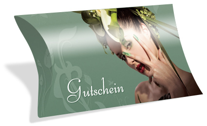 "Gutscheinkarte Etui ""exotic beauty"""
