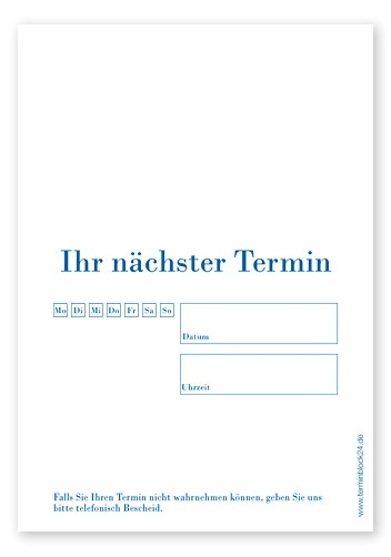 Termin-Haftzettel Light #2